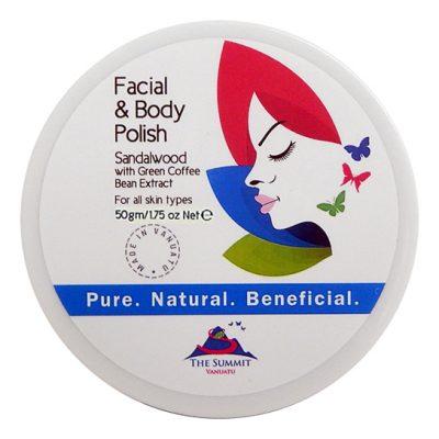 Facial Body Polsih Green Bean 50gr