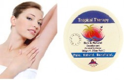 Use Zero Toxic Natural Coconut & Cocoa Butter Deodorant That Works, Makes Your Armpits Happy & Chemically Toxic Free